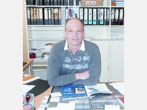 Jörg Schlüter ist neuer Schulleiter an der Grundschule in Breitenhagen. ▪