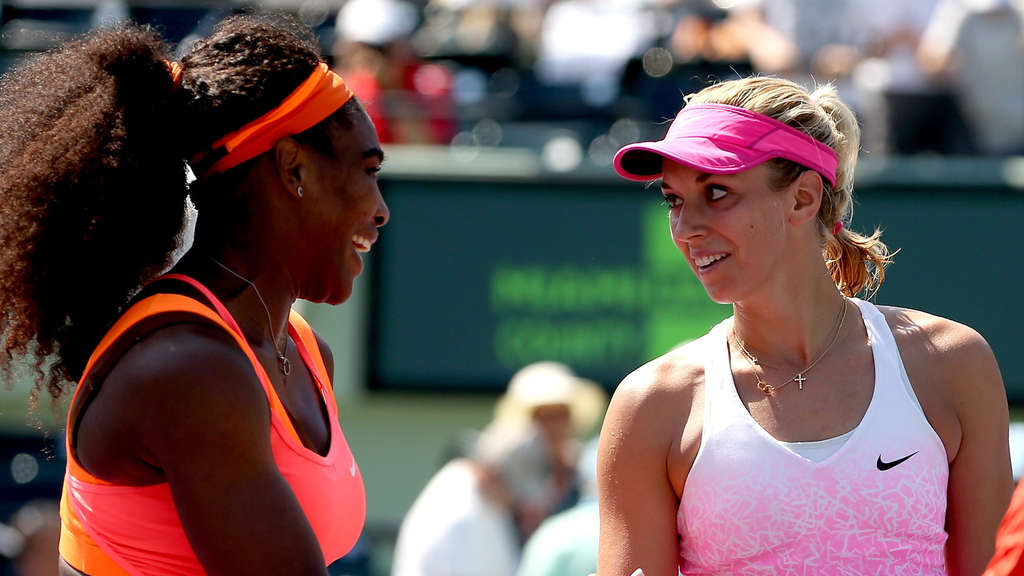 Serena Williams und Sabine Lisicki