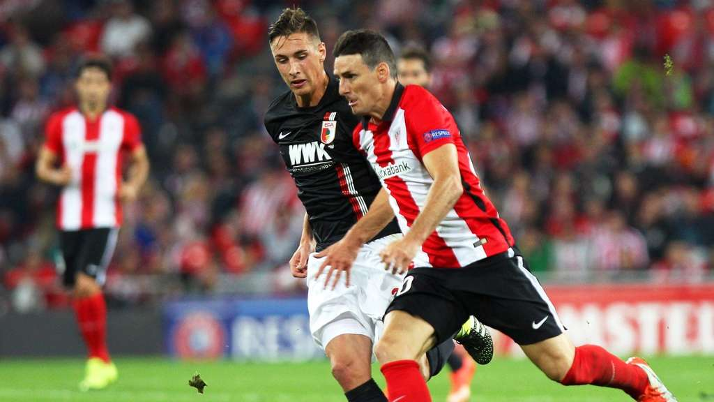 Europa League, FC Augsburg, Athletic Bilbao, Aduriz