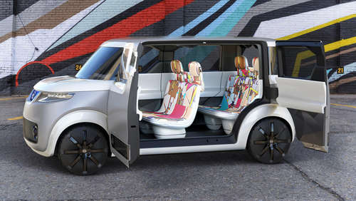 Nissan Teatro for Dayz: Elektroauto für Digital Natives