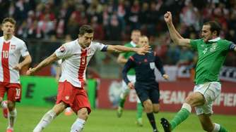 Polen dank Lewandowski zur EM - Holland in Not