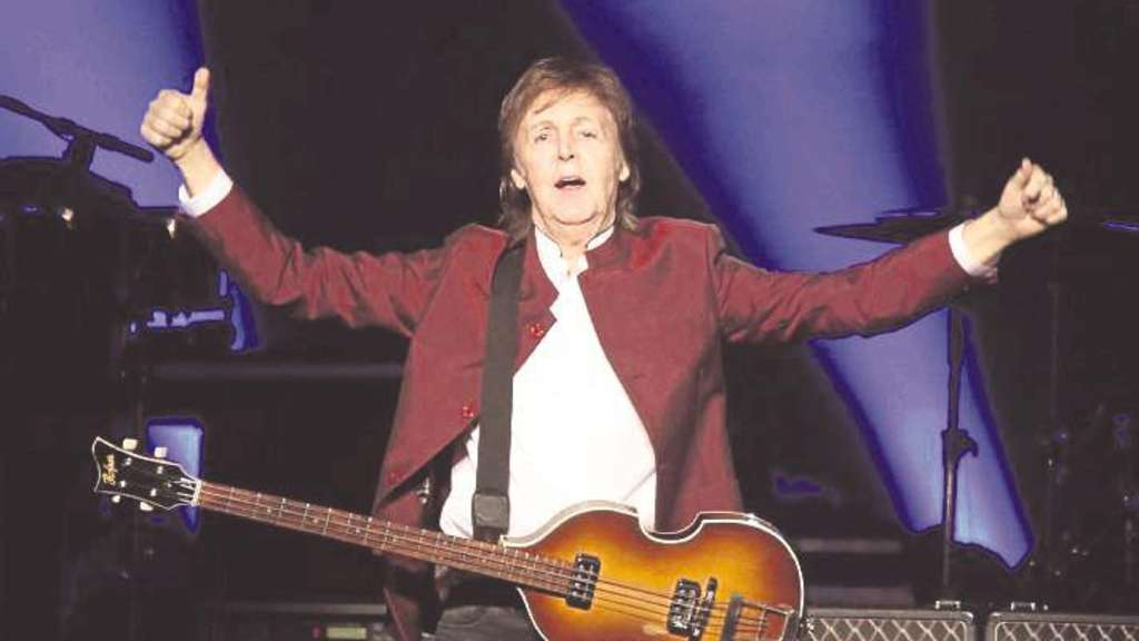 Fit und gut gelaunt in Düsseldorf: Ex-Beatle Paul McCartney.