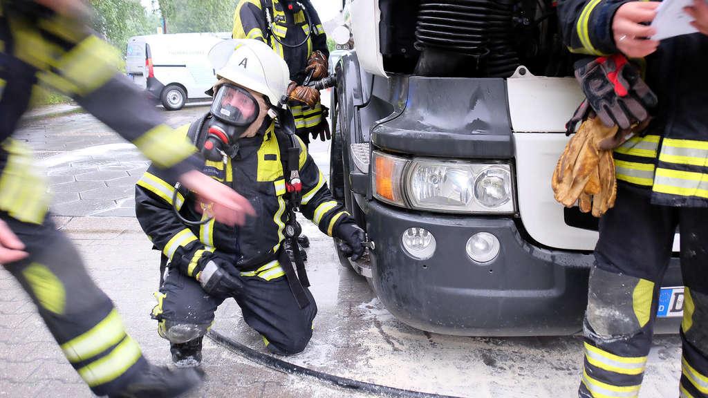 20.06.2016 Sirenenalarm;Tanklasterbrand an Tankstelle