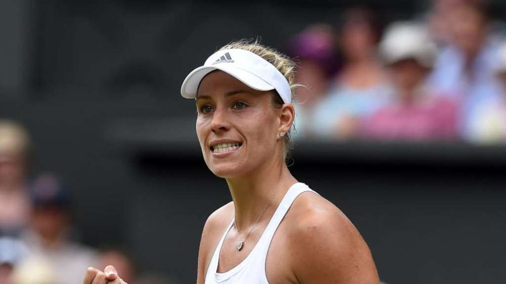 Angelique Kerber nimmt zum neunten Mal am Grand-Slam-Tennisturnier in Wimbledon teil. Foto: Gerry Penny