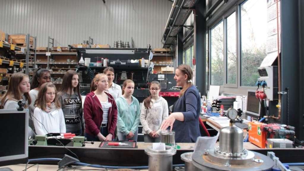 Girls' Day in Neuenrade: Einblick in technische Berufe