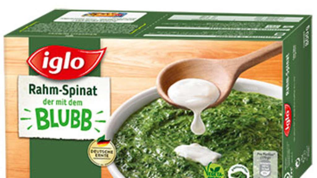 Iglo ruft beliebten Rahm-Spinat zurück