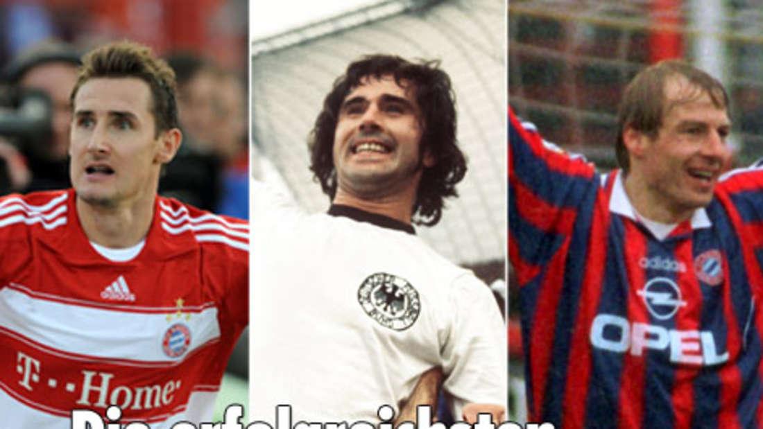 Fußball-Bundesliga: Die besten Torjäger aller Zeiten