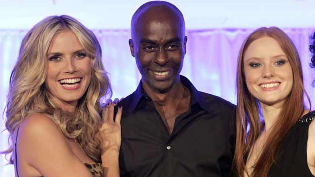 Die Siegerinnen von GNTM mit Heidi Klum