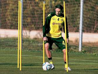 Neven Subotic bricht Training ab