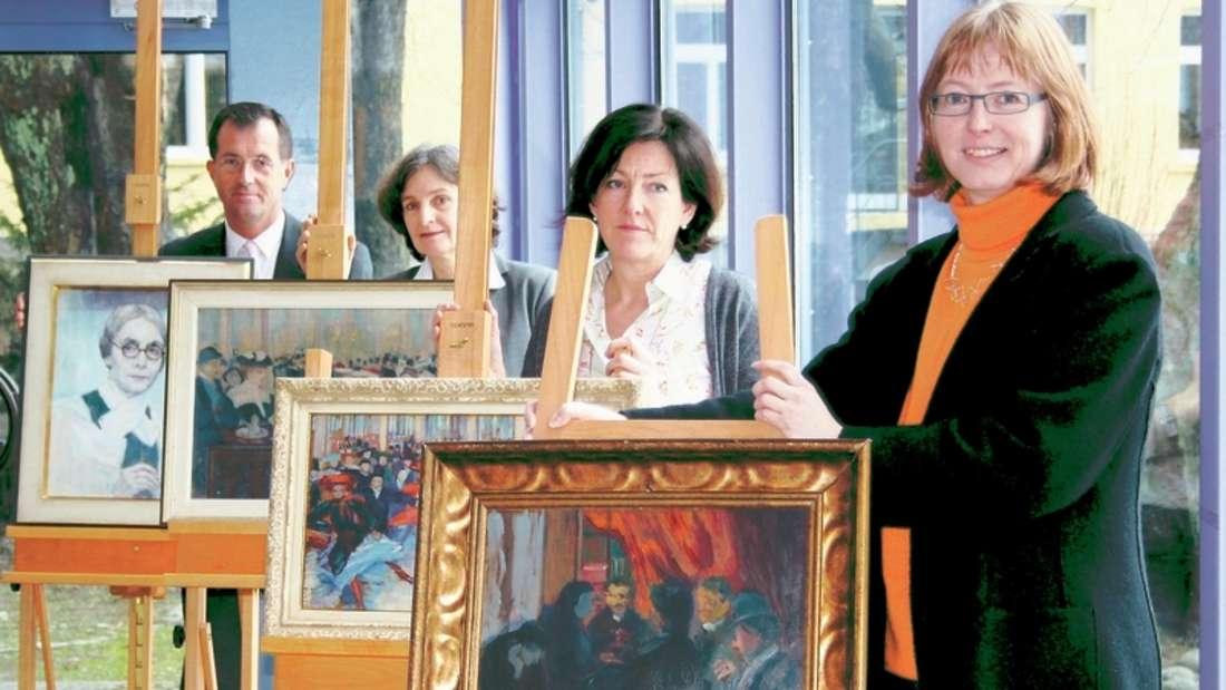 Die Städtische Galerie bereitet eine Ausstellung rund um die Pariser Zeit Ida Gerhardis vor.