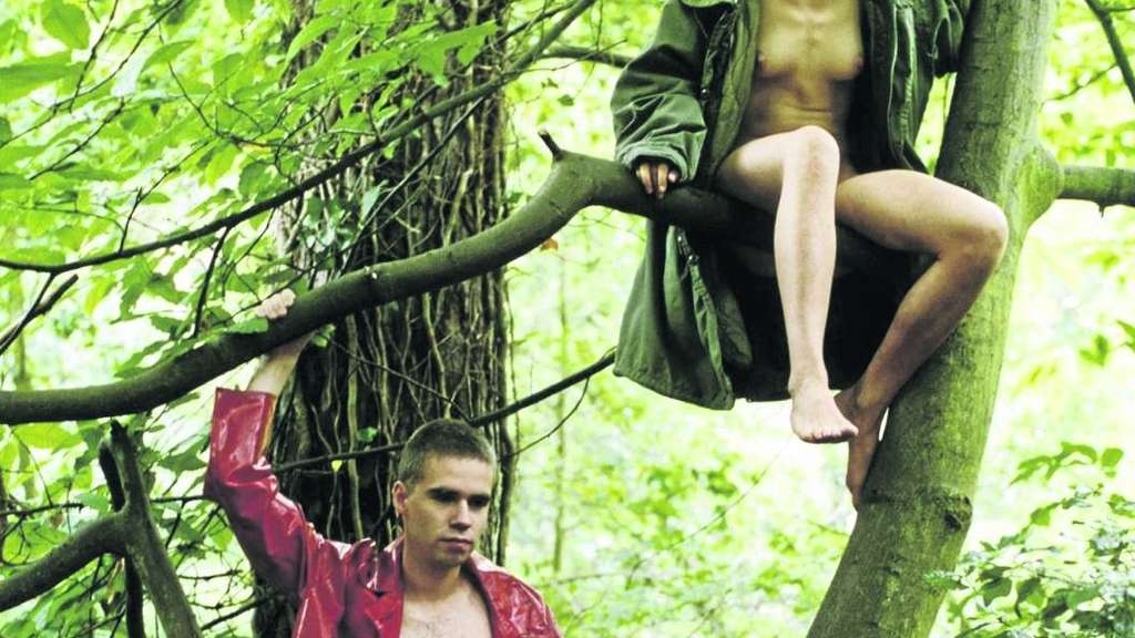 "Ein inszenierter Moment von Freiheit und Vertrautheit: Wolfgang Tillmans' Bild ""Lutz and Alex sitting in the trees"" (1992) ist in Düsseldorf zu sehen. - Fotos: Kunstsammlung"