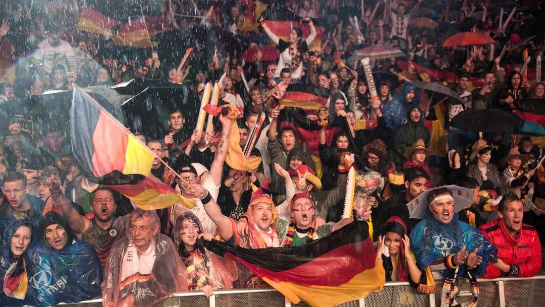 Public Viewing, WM-Achtelfinale
