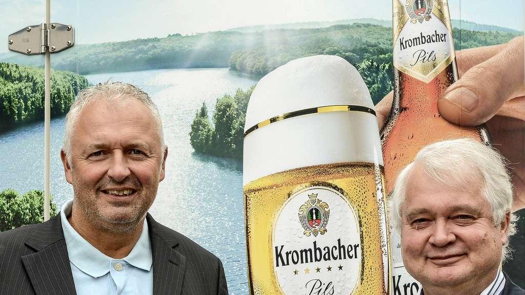 Getränke Linnepe geht an Krombacher Brauerei   Lüdenscheid