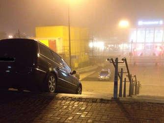 Navi Fuhrt Autofahrer In Fussgangerzone Auf Freitreppe In Dortmund Auto