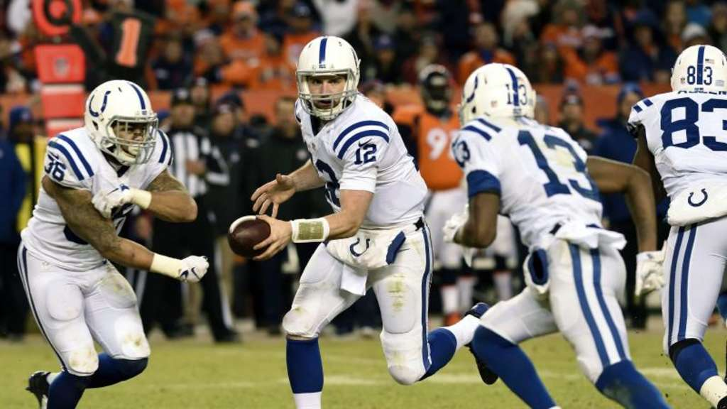 Die Indianapolis Colts schalteten Vizemeister Denver aus. Foto: Bob Person