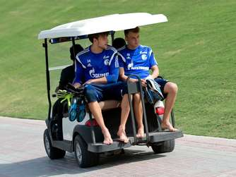 FC Schalke 04 im Trainingslager in Doha