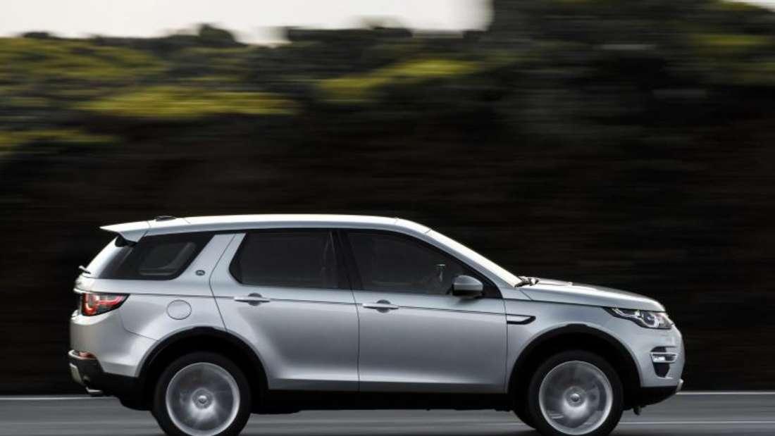 Der Discovery Sport will praktisch sein. Das schafft er mit einem großzügigen Platzangebot. Foto: Land Rover