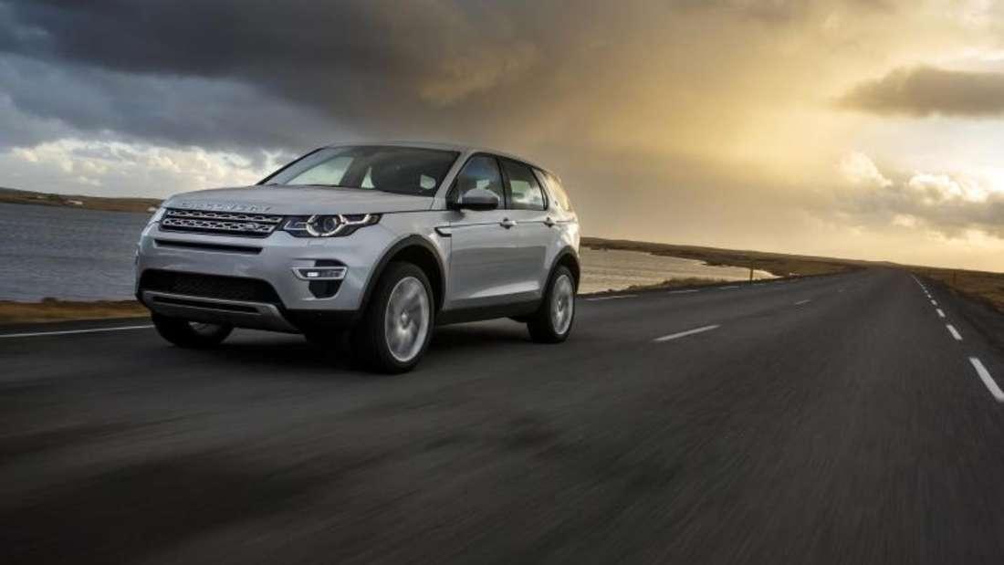 Ob Alltag oder Abenteuer: Der Land Rover Discovery Sport ist für beides geeignet. Foto: Land Rover