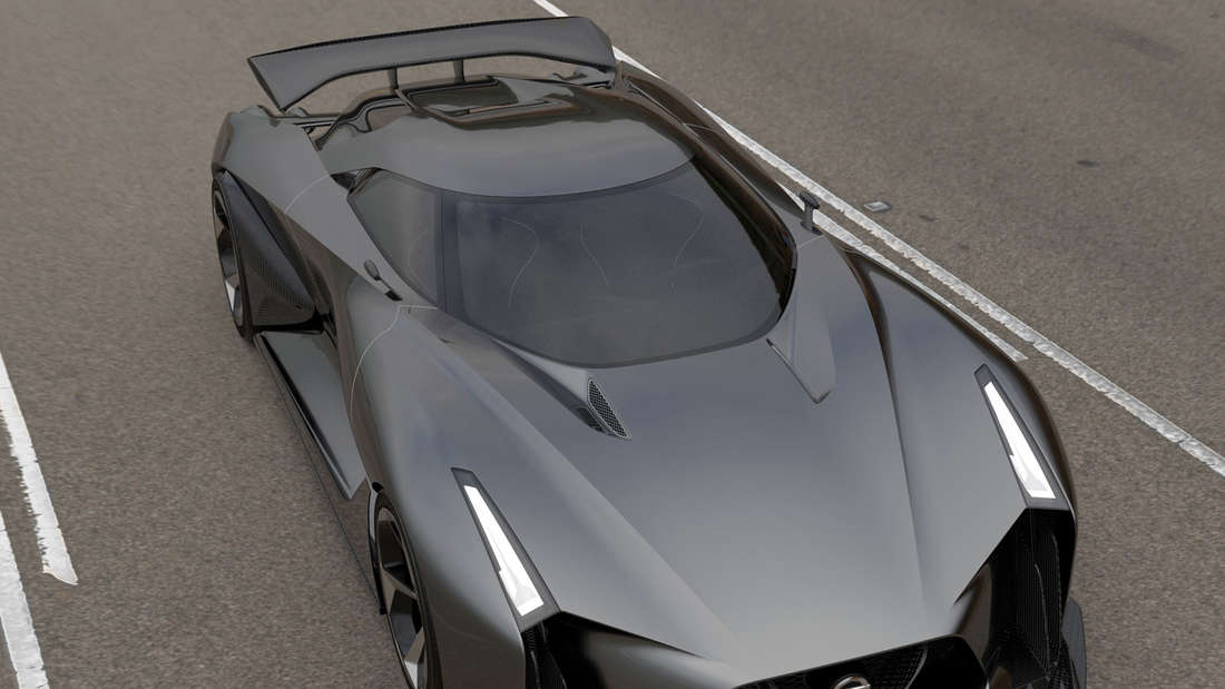 Nissan Concept 2020 Vision Gran Turismo.