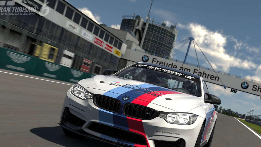 BMW M Performance M4 Safety Car