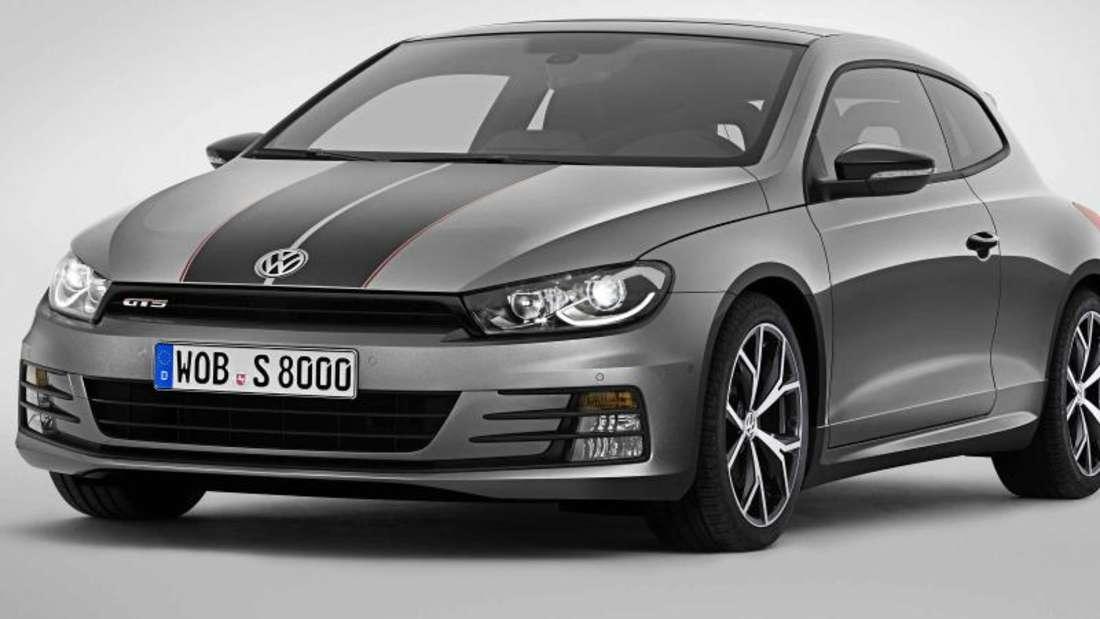 Neuauflage eines Klassikers:Der Scirocco GTS soll ab Ende Mai im Handel sein. Die Preise beginnen bei 31 000 Euro. Foto: Volkswagen
