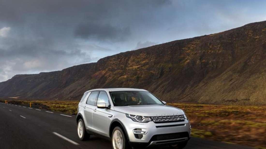 Selbst gebauter Selbstzünder: Land Rover rüstet den Discovery Sport künftig mit eigenen Dieseln der Ingenium-Reihe aus. Foto: Land Rover