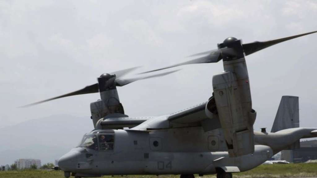 Ein MV-22 Osprey. Foto: Cpl. Thor Larson / III Marine Expeditionary Force Lt. Col. James III Marine Expeditionary Force Public Affairs Officer Staff Sgt. Warren Peace via DVIDS