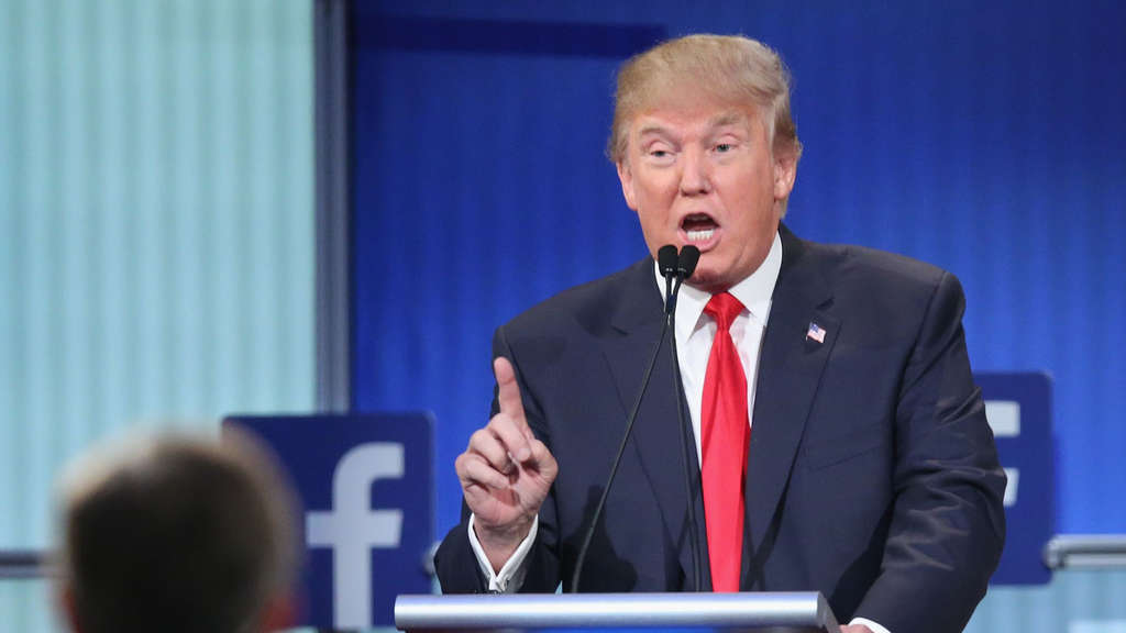 Donald Trump Debatte Republikaner