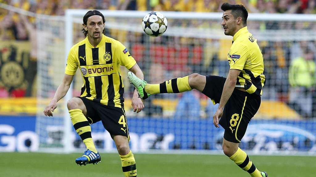 Neven Subotic und Ilkay Gündogan 2013