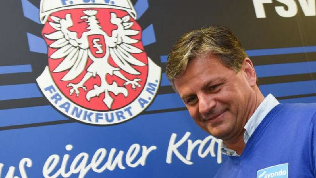 Trainer Falko Götz kämpft mit dem FSV Frankfurt gegen den Abstieg.