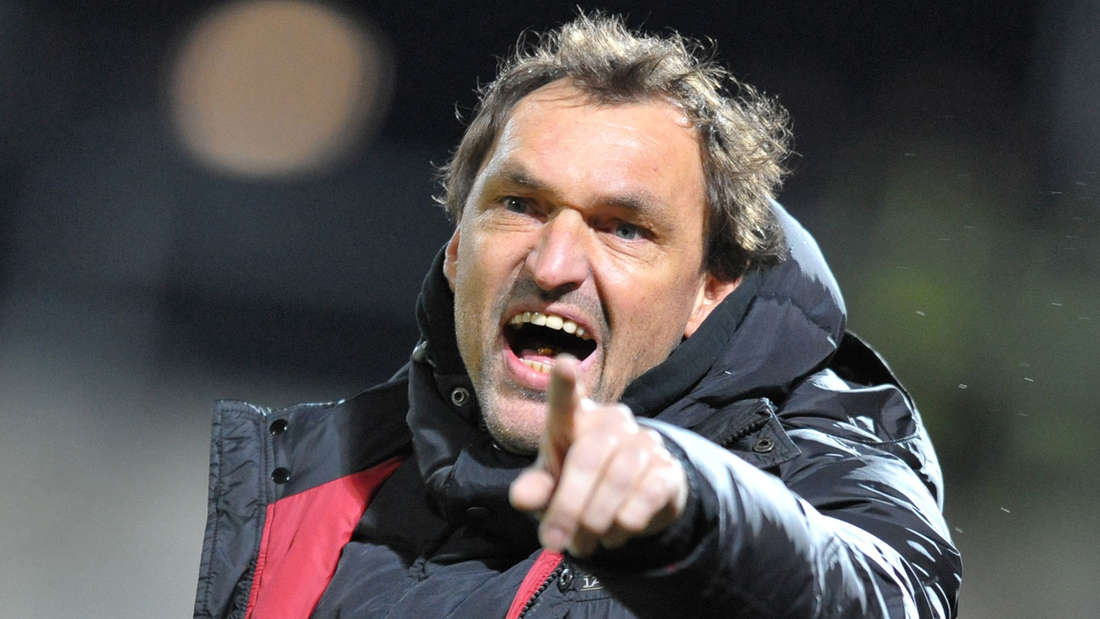 Cottbus Trainer Claus-Dieter Wollitz konnte den Abstieg nicht verhindern.