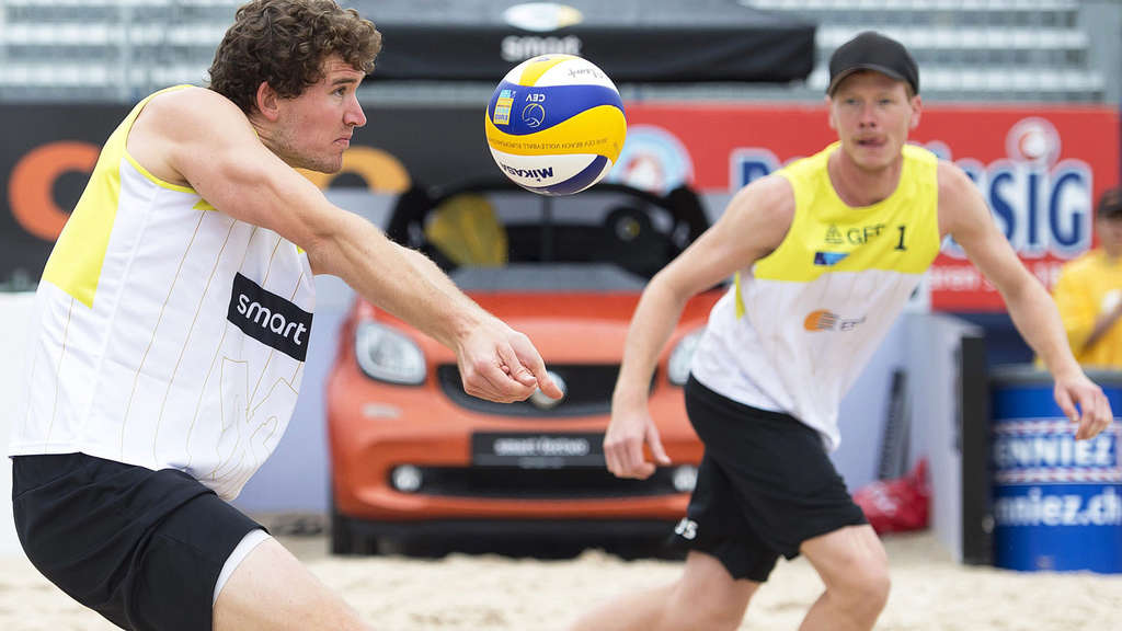 Lars Flüggen, Markus Böckermann, Beachvolleyball, Olympia, Ticket