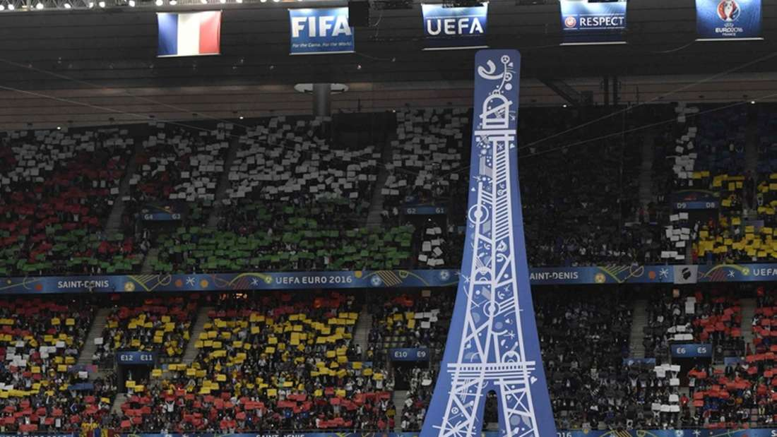 EM 2016 Frankreich Rumänien Eröffnungsfeier
