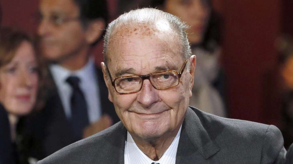 Jacques Chirac admitted to hospital