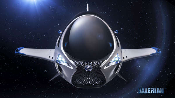 Science-Fiction: Dieser Lexus kann fliegen
