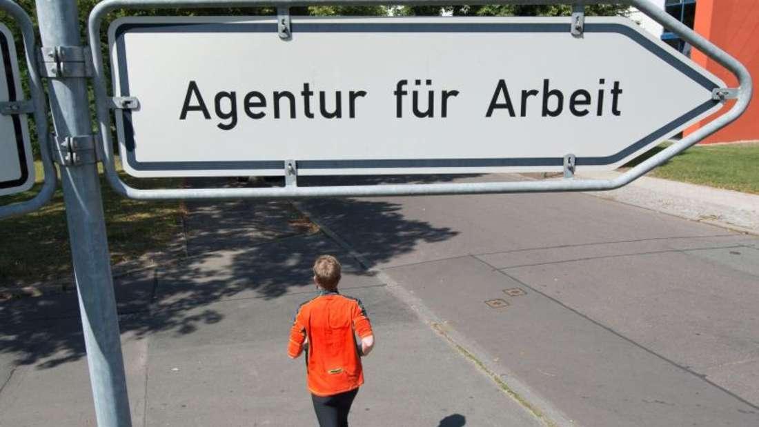 Die Agentur für Arbeit in Erfurt. Foto:Sebastian Kahnert