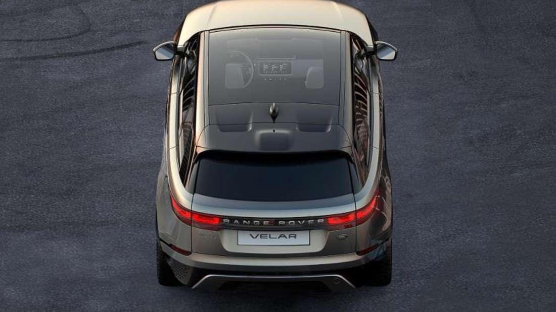 Erweiterungsprogramm: Land Rover ergänzt die Range-Rover-Familie mit dem Velar. Foto: Jaguar/Land Rover/dpa-tmn