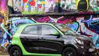 Für Familien: Smart electric drive Forfour