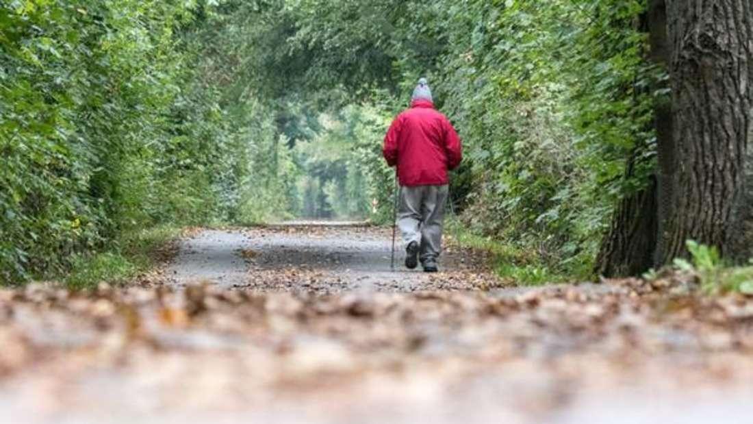 Darum hält Nordic Walking durch das Herbstlaub Ihr Herz gesund.