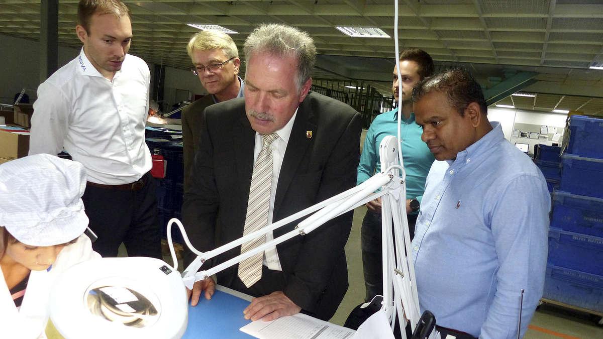 Siva auf Expansionskurs: Bürgermeister besucht