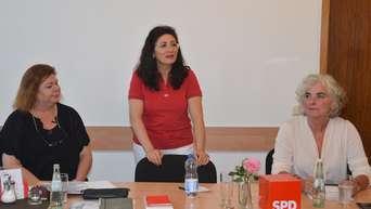 Zu sehen hier von links nach rechts: SPD Ortsverein