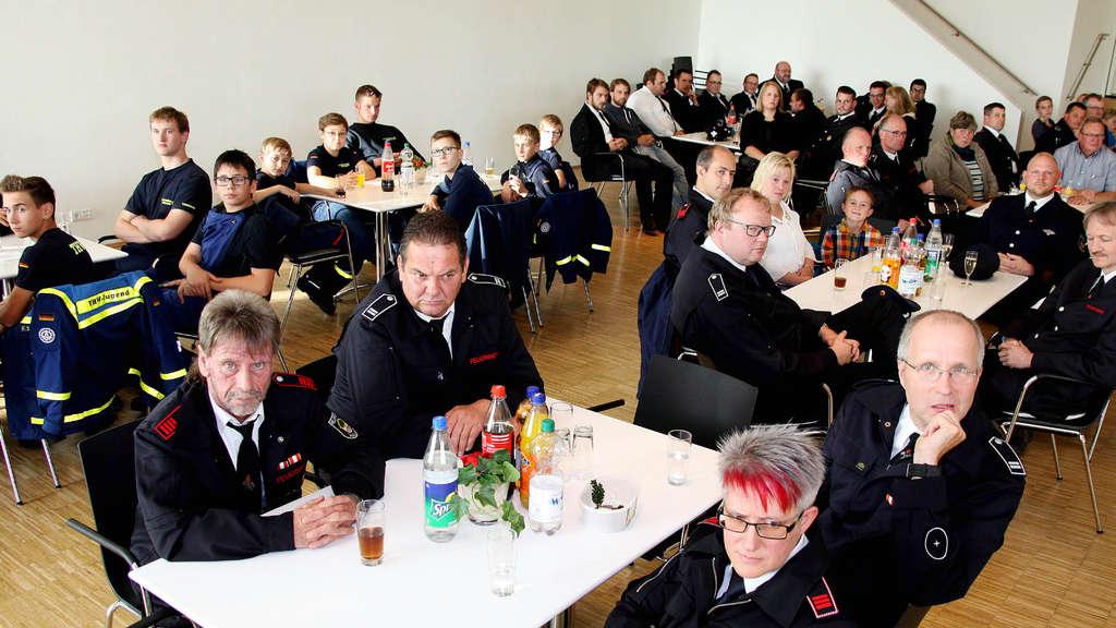 Die Jugendfeuerwehr Halver feierte ihr 45-jähriges Bestehen.