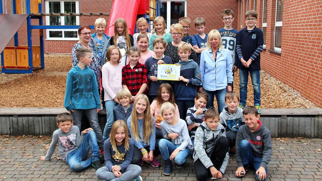 "Klasse 2000""-Zertifikat für Grundschule Garbeck   Balve"