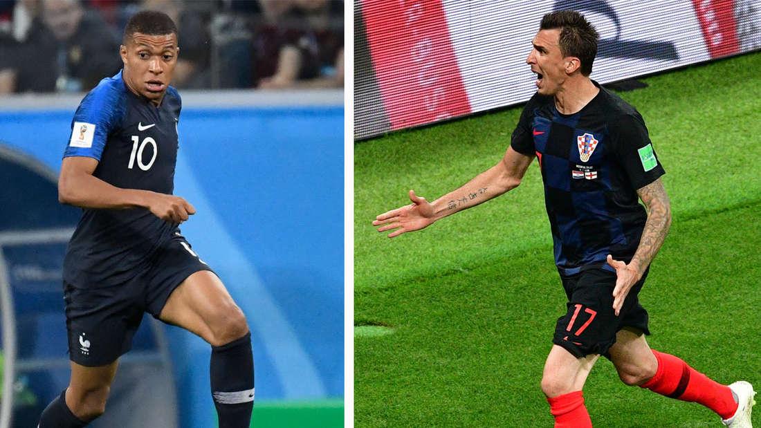 WM 2018 Wer wird Fußball-Weltmeister? Frankreich oder Kroatien?