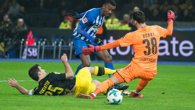 Blasse Borussia: Mageres 1:1 bei Hertha BSC