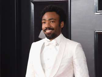 Donald Glover aka Childish Gambino bei den 60. Grammy's in New York.