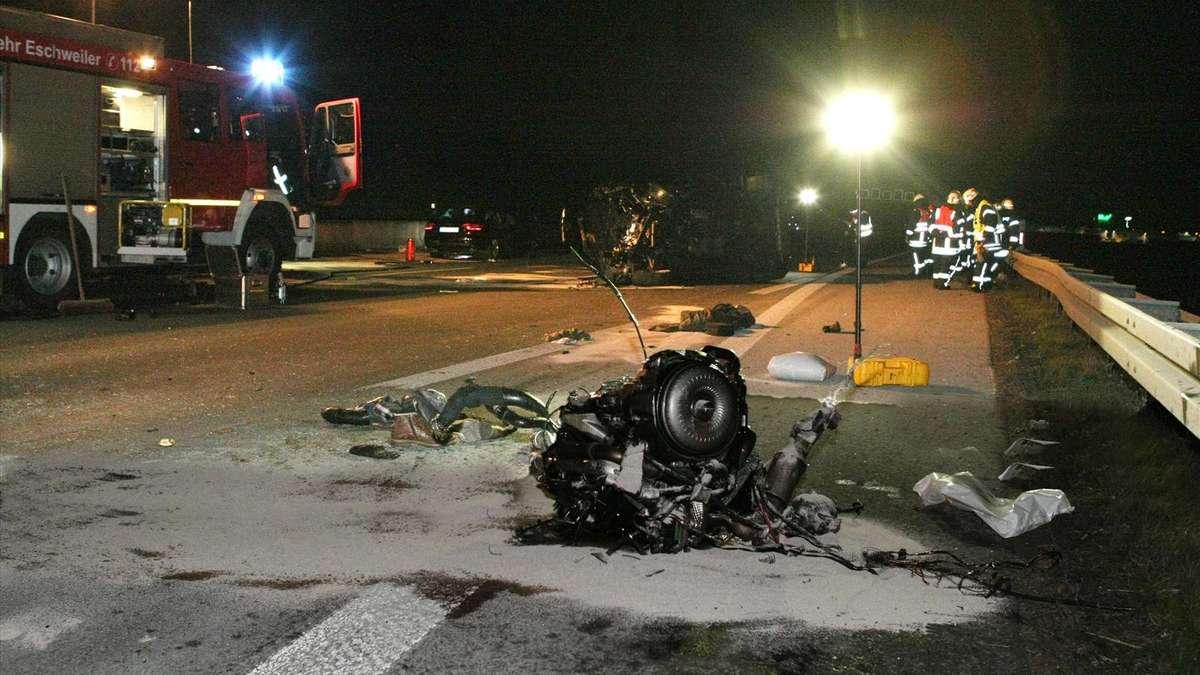 Unfall A4 Aachen