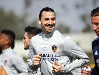 Ibrahimović absolviert erstes Training in L.A.: