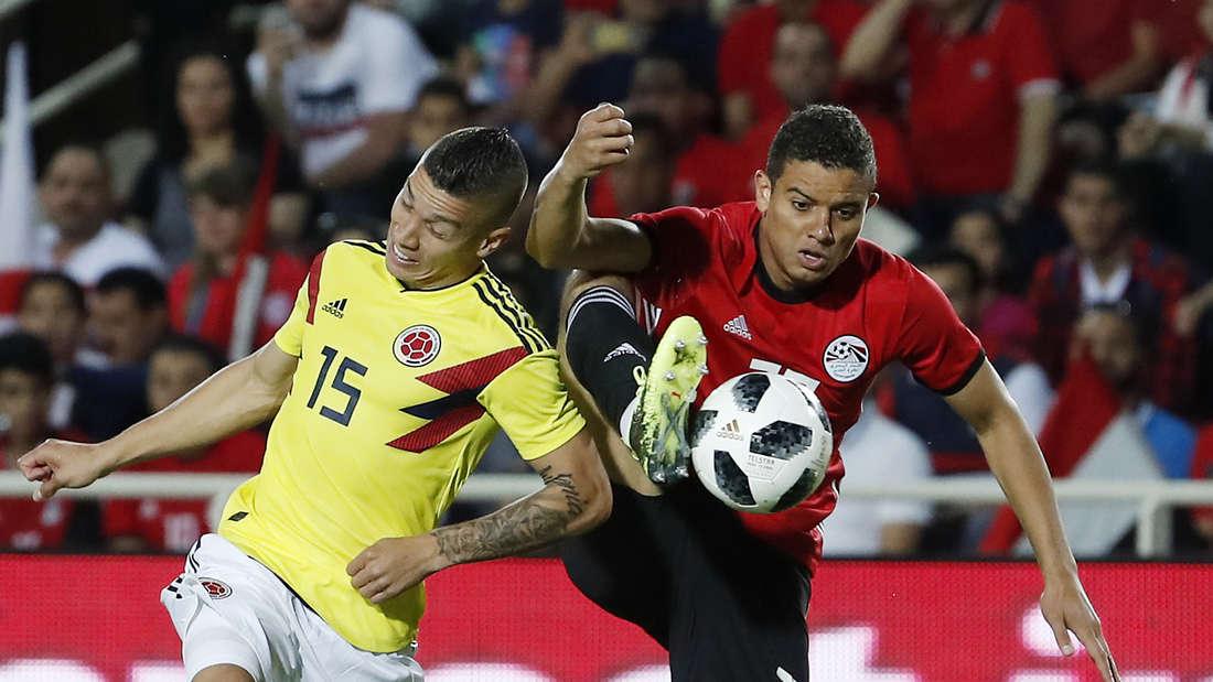 Ägypten - Kolumbien