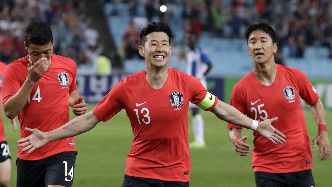 Südkorea - Heung-Min Son